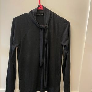 Zara neck tie top used once M